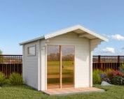 Keops Ebba sauna log cabin