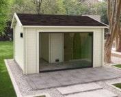Keops Erling sauna log cabin