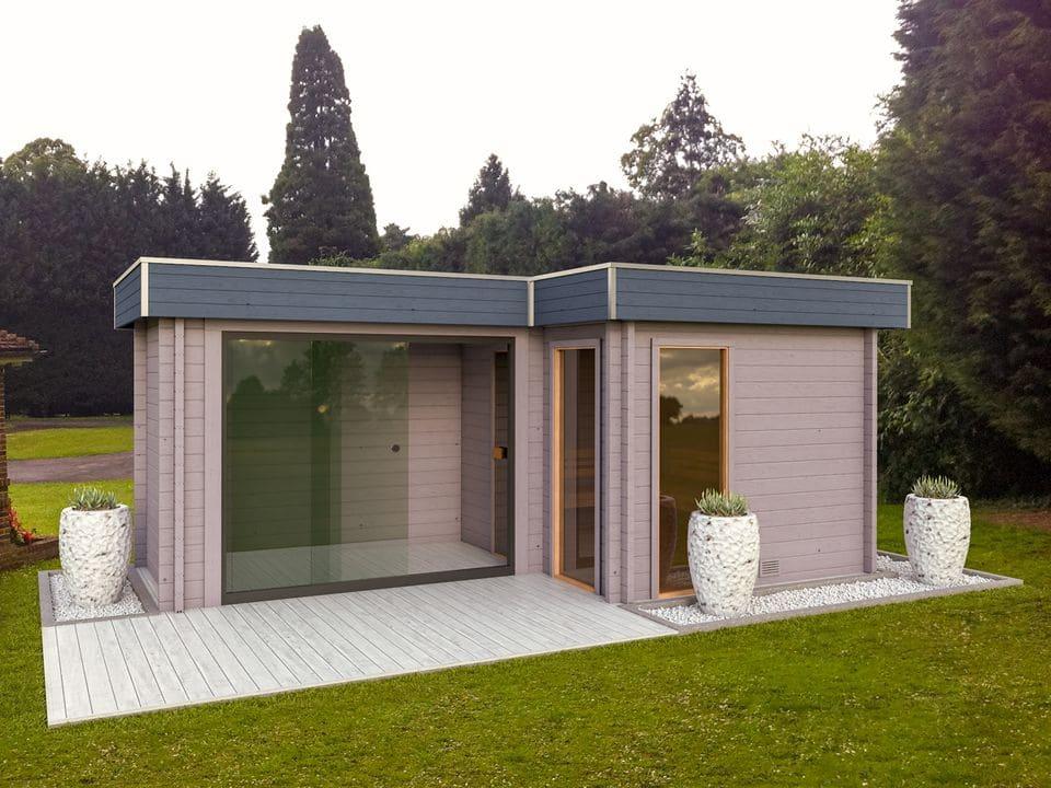 Keops Halvor sauna log cabin