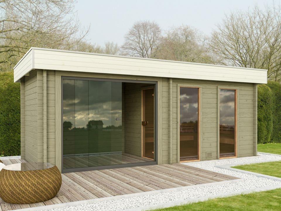 Keops Hedda sauna log cabin
