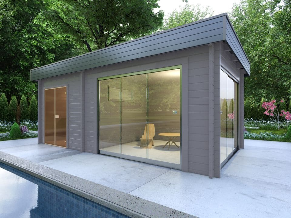 Keops Thor sauna log cabin