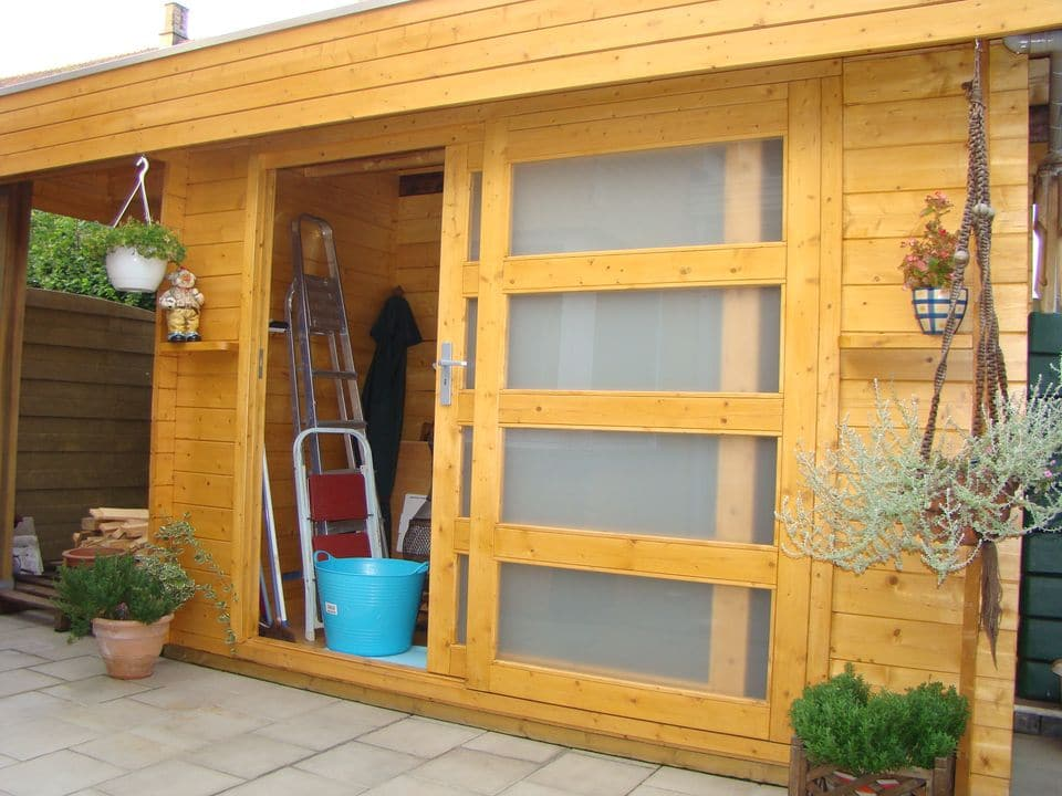 Comfort VDS44 log cabin sliding door