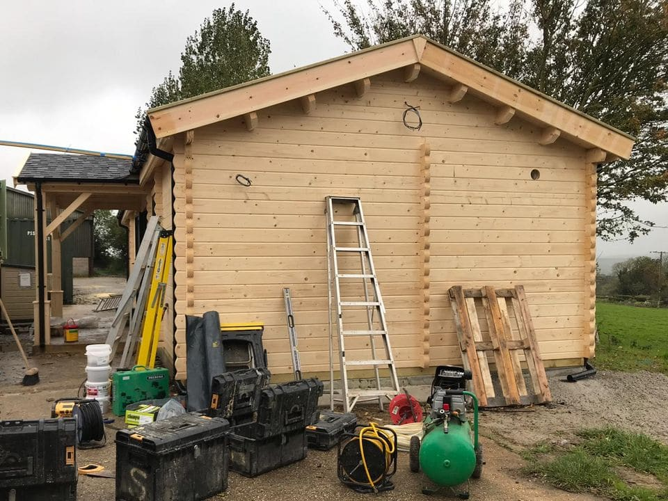 Building the community shop