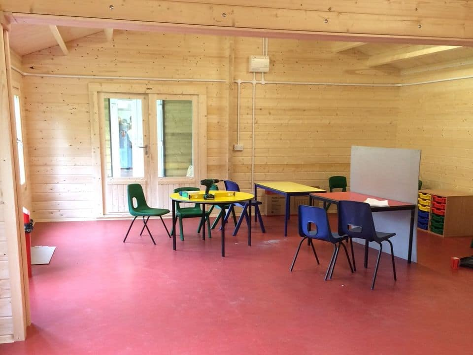 Classrooms for schools and nurseries