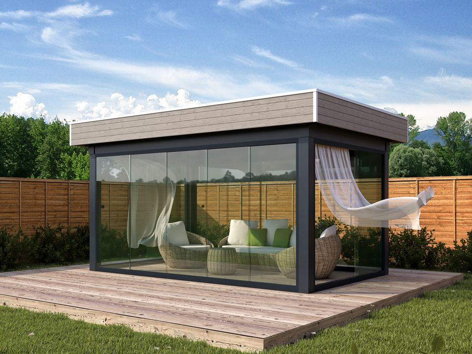 Keops Azur outdoor living summerhouse
