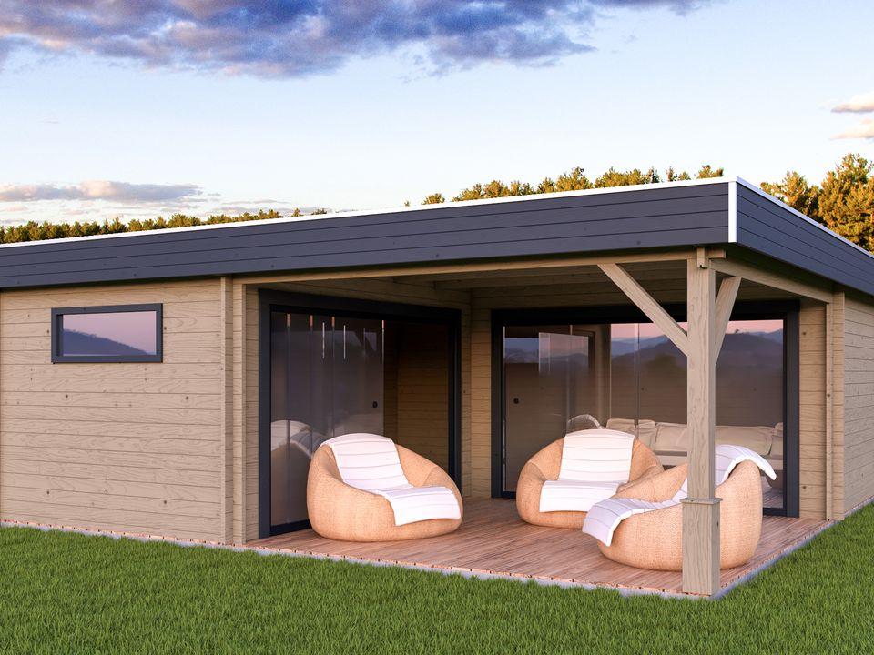 Keops Genoa outdoor living cabin
