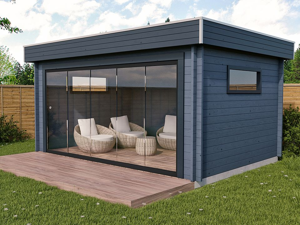 Keops Monza outdoor living cabin