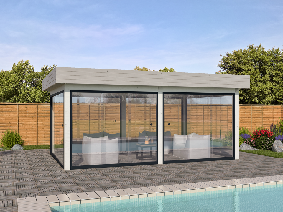 Keops Olympia outdoor living summerhouse
