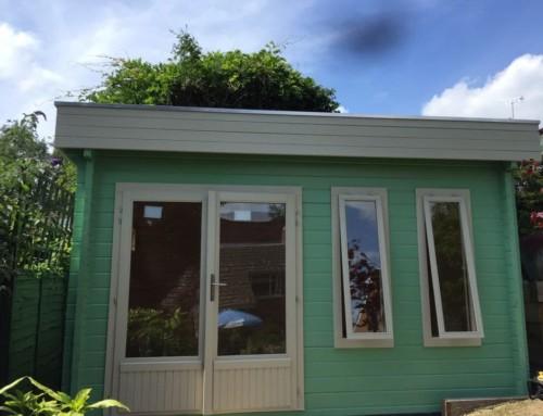 Mr Chard's cabin