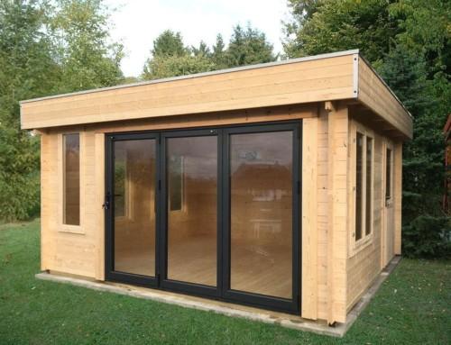 Mr Johnson's cabin