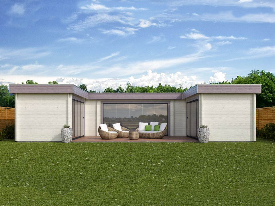 Keops Chambery outdoor living cabin