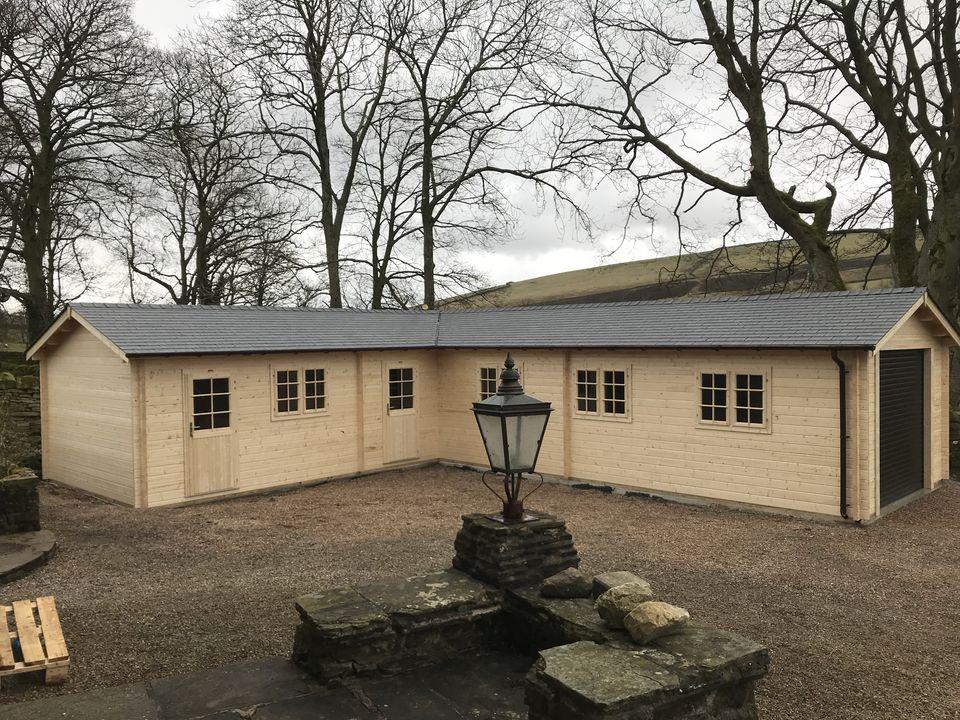 Keops Kane Classic L shaped garage workshop