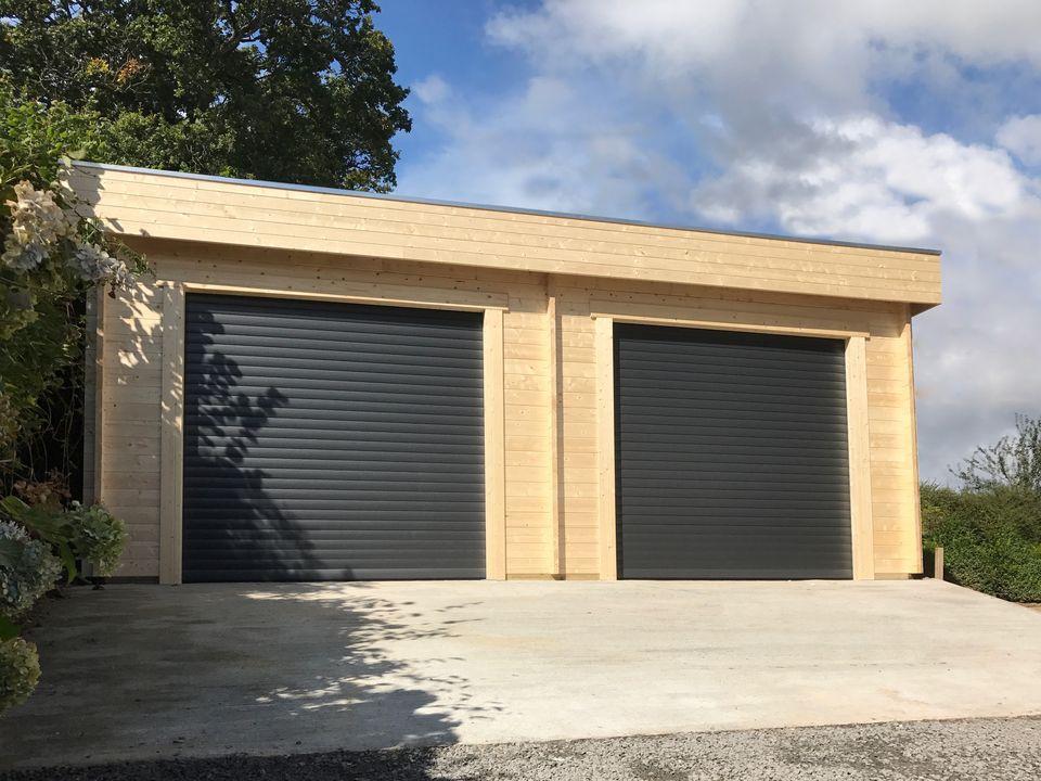 Keops Nudd Moderna double garage
