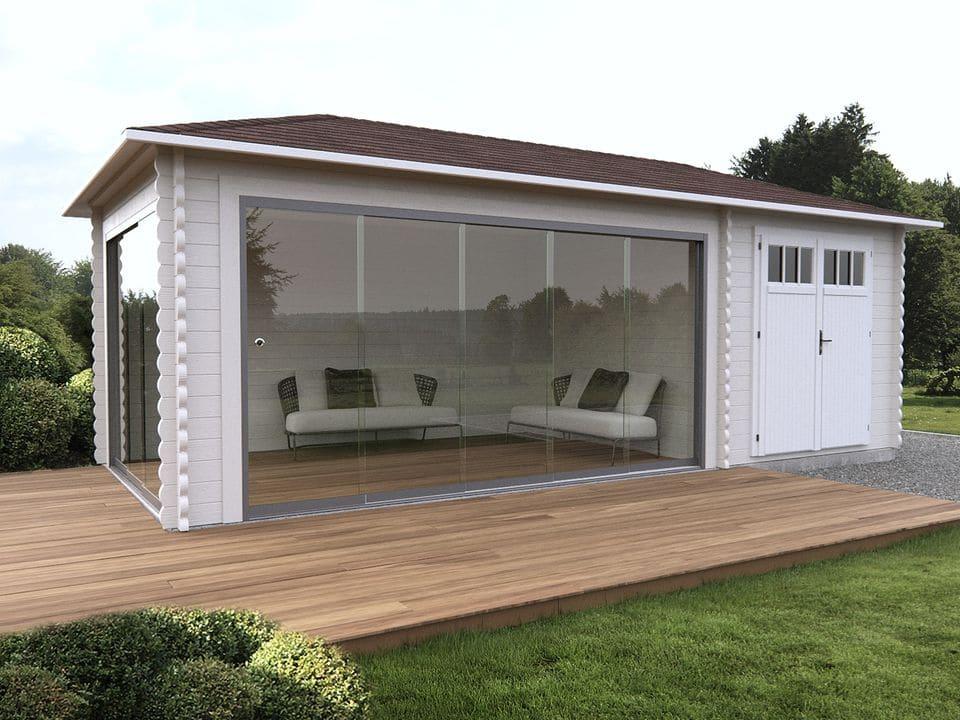Keops Salamanca outdoor living cabin