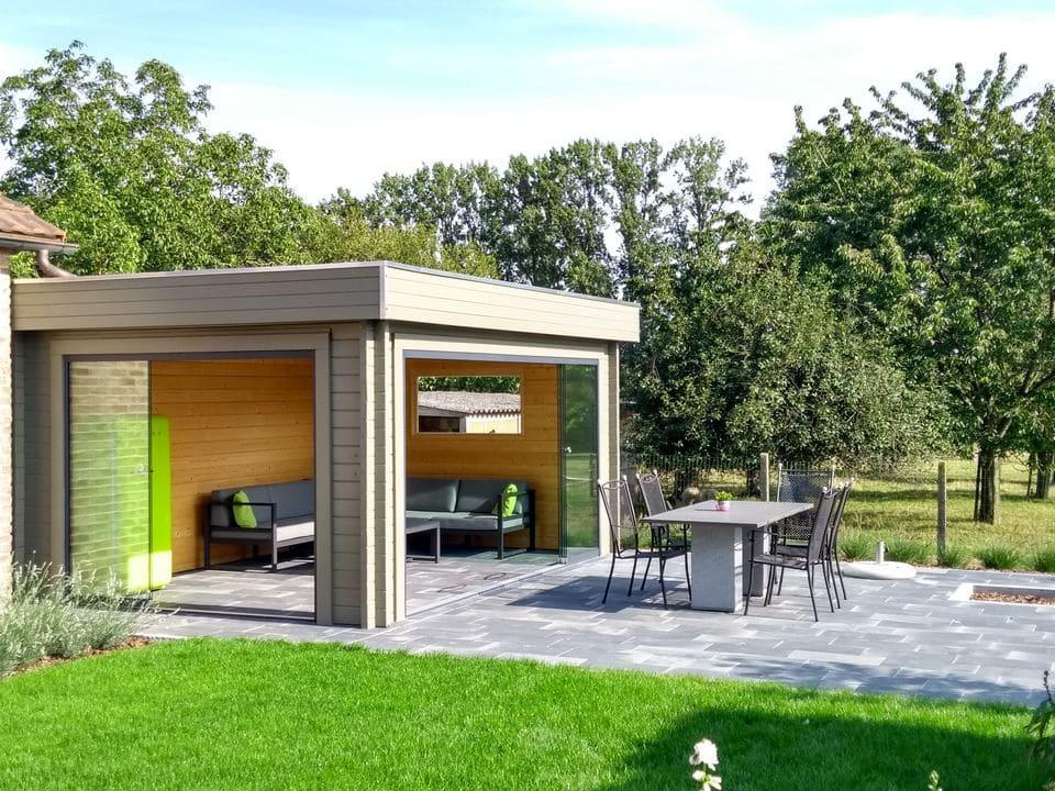 Keops Valero outdoor living cabin