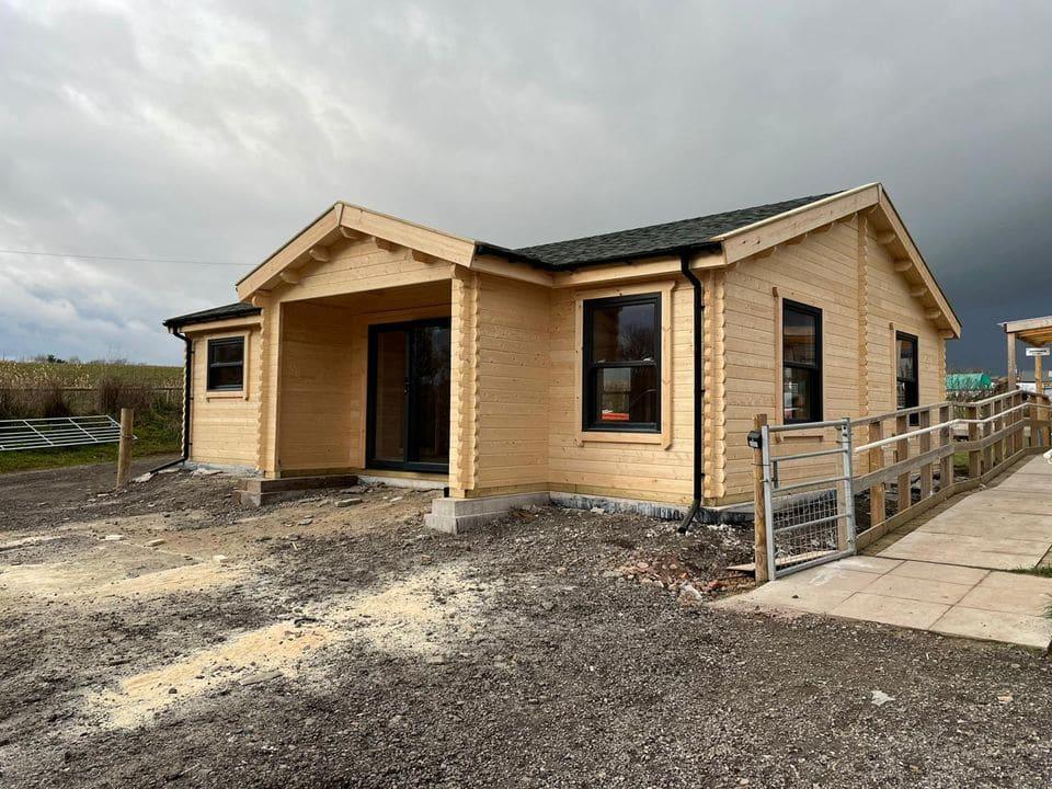 Keops Interlock commercial log cabin