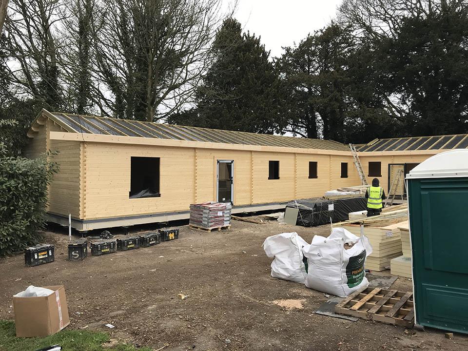 Constructing building regs roof insulation